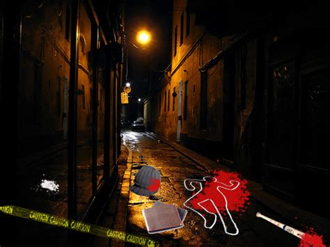Alleyway Crime Scene (CSI: Sin City)