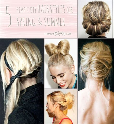 easy diy hairstyles for long curly hair you ll need these 5 hair tutorials for spring and summer