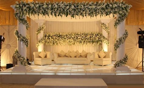 Walima Stage Decoration 2017 2018 Trends for Reception