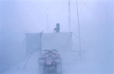 Out White white out conditions