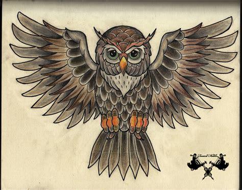 tattoo flash owl tattoo flash owl by tausend nadeln on deviantart