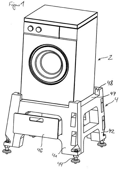 Waschmaschine Und Trockner Stapeln 532 by Patent Ep1205129a1 Mehrteiliger Sockel F 252 R Elektroger 228 Te