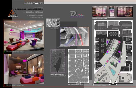 concept board digital portfolio interior architecture design portfolio sle by