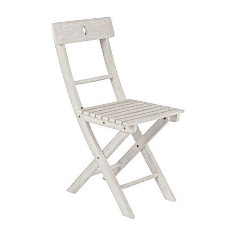 offerta sedie pieghevoli sedia legno pieghevole bianco shabby offerte
