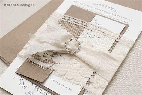 wedding invitation lace design 20 unique wedding invitation ideas easyday