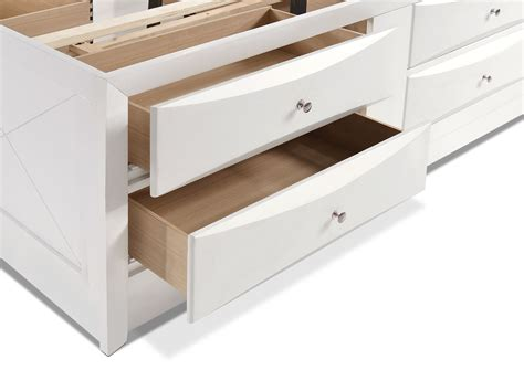 bookcase storage bed full braden full bookcase bed with storage white american
