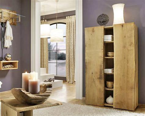 garderobe eiche massiv woodline garderobe garderobenschrank eiche massiv ebay