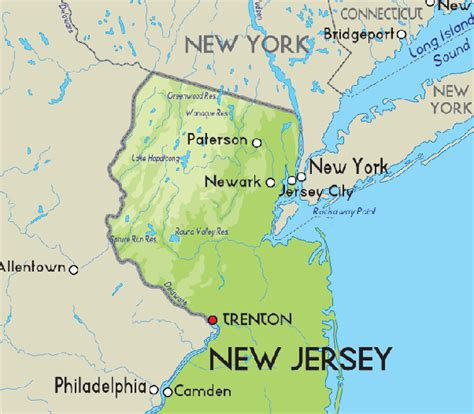 map of new jersey and new york 22 awesome map of new jersey and new york afputra