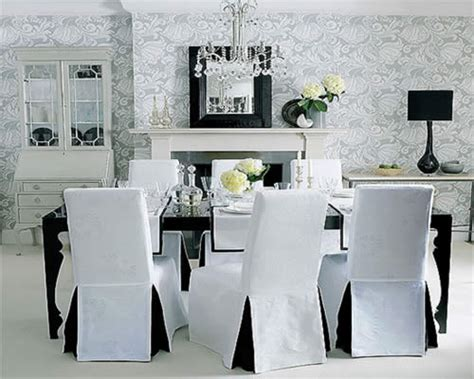 Dining Room Chairs Covers Selection Of Covers To Protect And Decorate Your Dining Chairs