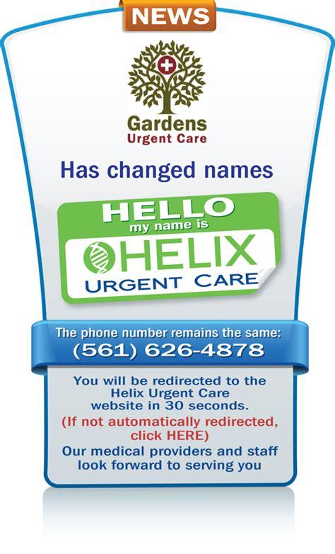 gardens urgent care