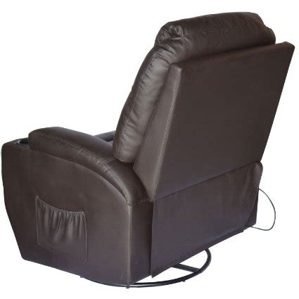 best recliner chair reviews homcom deluxe heated vibrating massage recliner chair