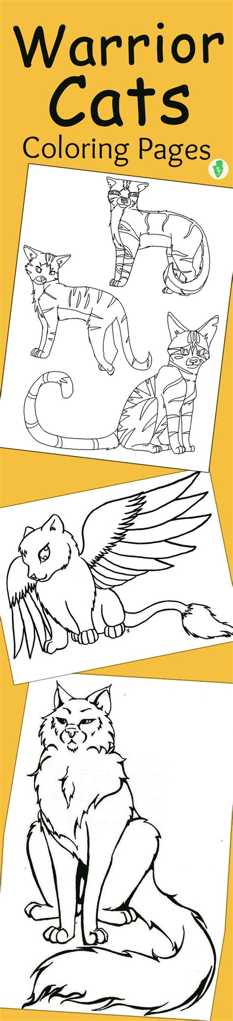 warrior cat coloring pages  print az coloring pages