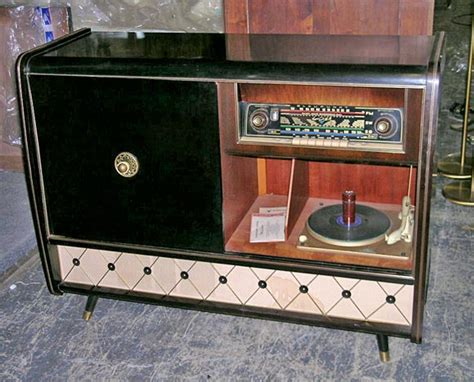 1950s Record Player Cabinet 1950 s console and record player at 1stdibs
