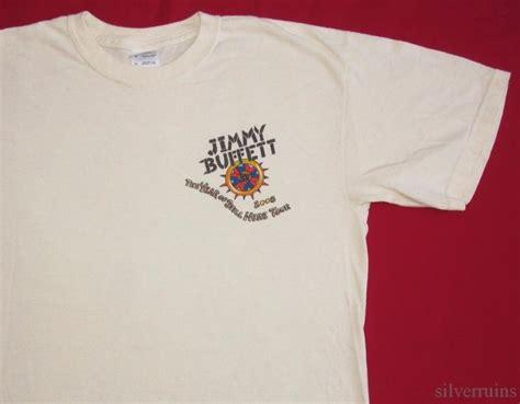 jimmy buffett vintage t shirt tour concert 2008 still here