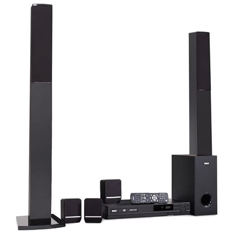 rca 1000w home theater system with dvd cd player