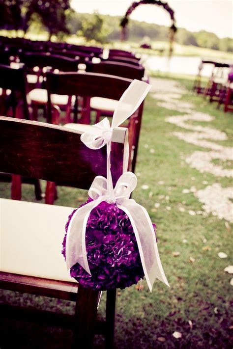 wedding aisle flower balls stunning wedding aisle and inspiration sharp n chic weddings