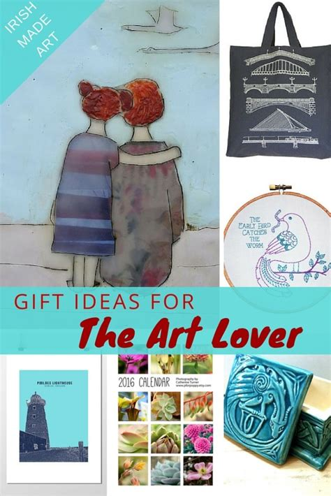 gifts ideas for the art lover relocating to ireland