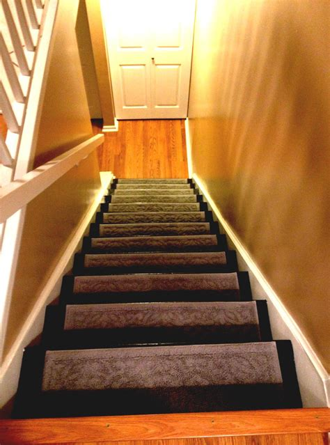 best basement stairs with creative lighting ideas