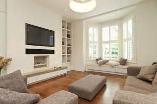 Living Room Bay Window Seat How To Utilize The Bay Window Space