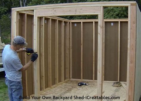 How To Hang Shed Doors by How To Build A Shed Storage Shed Building