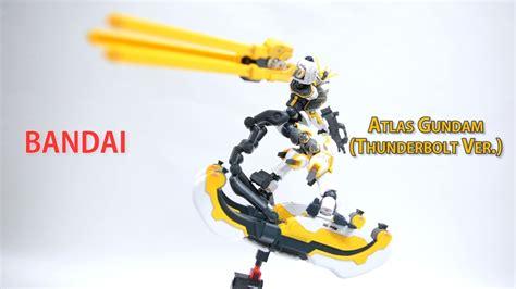 Hgtb 1 144 Atlas Gundam 3d spin hgtb 1 144 아틀라스 건담 썬더볼트 ver atlas gundam thunderbolt ver