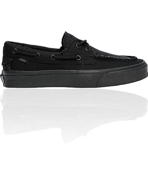 vans true all black zapato barco skate shoes mens at