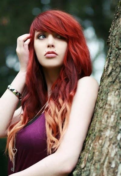 hairstyles red and blonde red hairstyles beautiful hairstyles