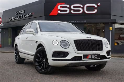 white bentley used white bentley bentayga for sale