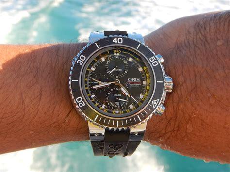 oris aquis depth chronograph review page 2