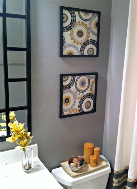 bathroom framed wall art 17 best ideas about framed fabric art on pinterest framing fabric yellow wall art