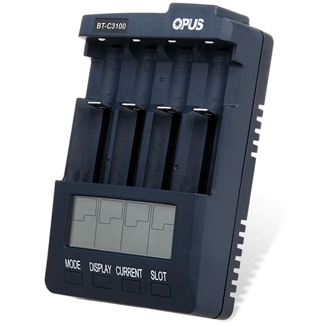 Charger Opus Bm100 Discharge Refresh With Lcd Saingan Powere T2909 1 opus bt c3100 v2 2 smart lcd 12v battery charger for li ion nicd nimh batteries ebay