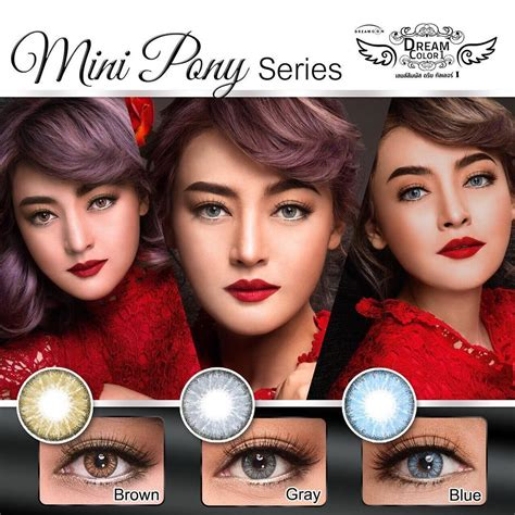 Softlens Dreamcon by Jual Softlens Dreamcon Mini Pony Free Ongkir Softlensmurahku