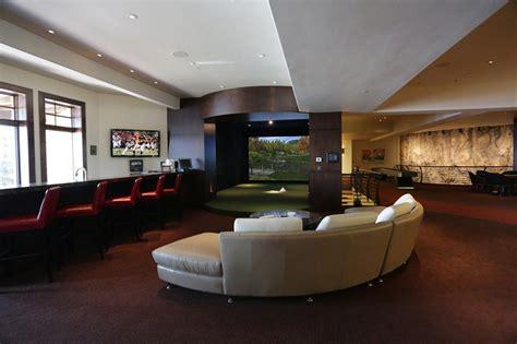 indoor golf simulator photo gallery trugolf