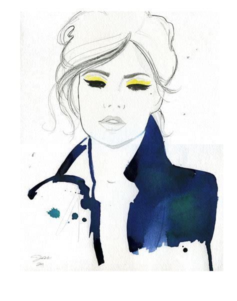 fashion illustration watercolor watercolor illustration durrant