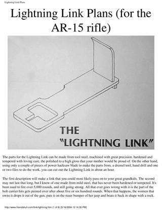 ar15 lightning link plans by bones blade issuu