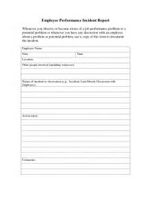Employee Accident Report Template report template itil incident report template employee incident report