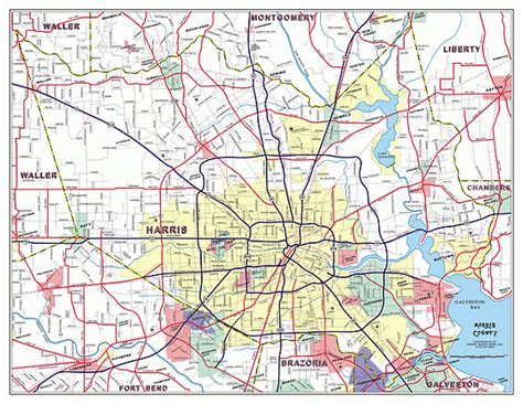 harris county map texas maps custom mapping solutions for your business harris county