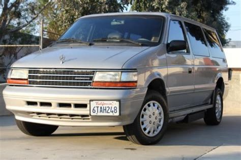how to work on cars 1995 plymouth grand voyager lane departure warning find used handicap wheelchair 1995 plymouth grand voyager power r with transfer seat in