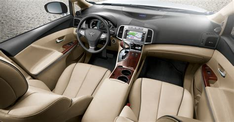 Venza Interior Dimensions by 2011 Toyota Venza Photos Price Specifications Reviews