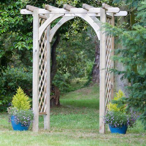 Wooden Garden Arch Ebay Horizon Wooden Garden Arch Trellis Archway Climbing