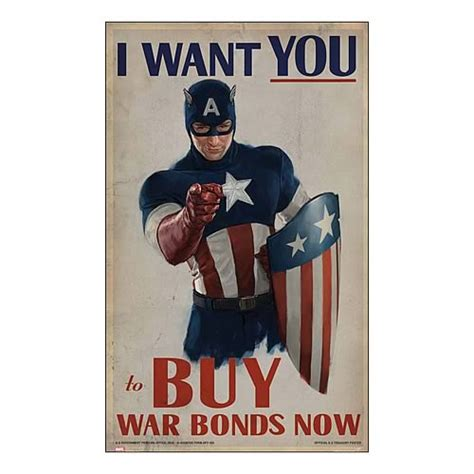 Plakat We Want You by Captain America Avenger I Want You Replica Poster