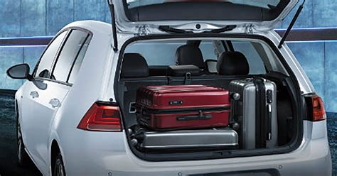 Volkswagen Golf Cargo Space Comparison Volkswagen Of