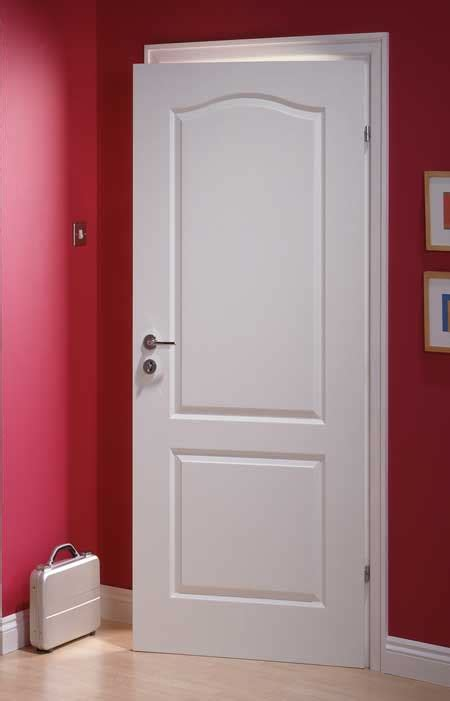 Classique Textured White Primed Door Interior Doors Uk