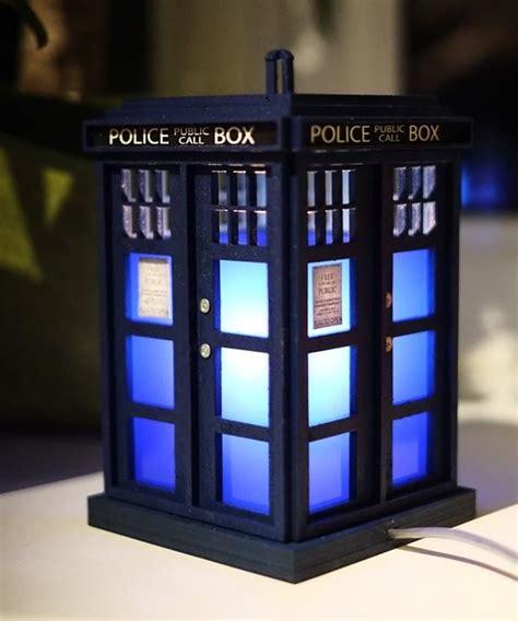 Handmade Doctor Who Tardis Night Light Gadgetsin Doctor Who Lights