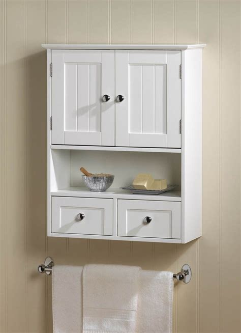 small bathroom wall cabinet