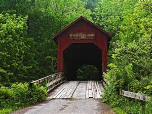 Covered Bridge Covered Bridge Bean Blossom Indiana Picture Covered