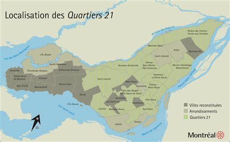 montreal quartiers  agenda  local demarches