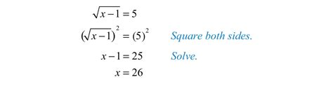image square root property exle