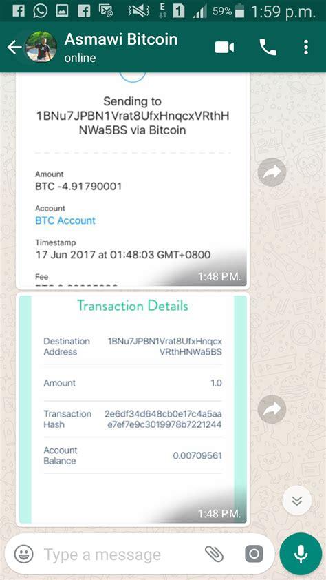 Mesin Bitcoin bukti pembayaran dan penerimaan mesin bitcoin