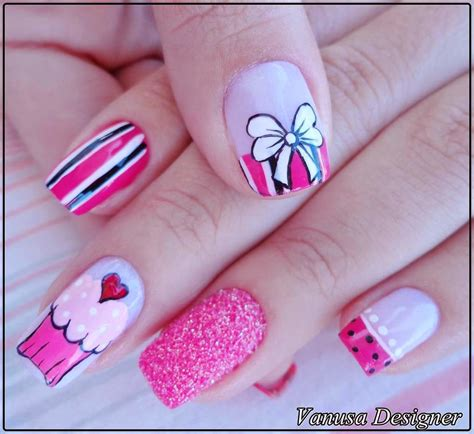 Imagenes De Uñas Decoradas Juveniles Faciles | im 225 genes de u 241 as decoradas bonitas decoracion de u 241 as